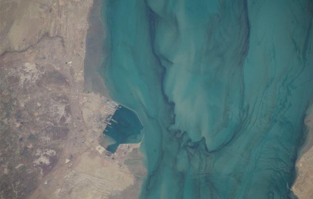 porto perto de Abbas no Iran