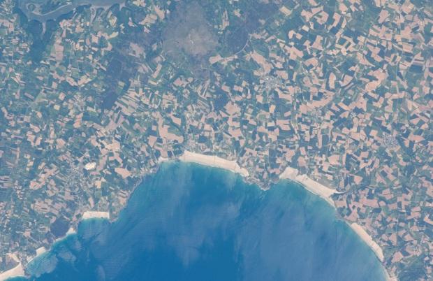 praias e plantações na frança